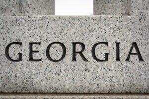 """Georgia"" State Name Engraving"
